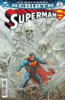 SUPERMAN #5, VARIANT, New, First print, DC REBIRTH (2016)