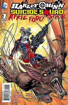 HARLEY QUINN SUICIDE SQUAD APRIL FOOLS SPECIAL, New, First print, DC (2016)