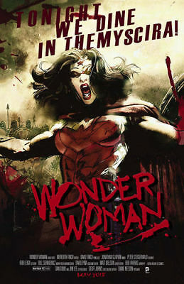 WONDER WOMAN #40, MOVIE POSTER VARIANT, New, First print, DC NEW 52 (2015)