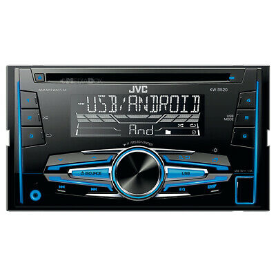 JVC 2-DIN CD/MP3/USB Auto Radioset für VW Golf 4/Bora/Sharan 1