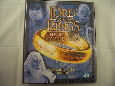 Lord of the Rings Return of The King Trading Card Binder & Base set