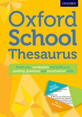 Oxford School Thesaurus (Oxford Thesaurus) (Hardcover), Oxford Di...