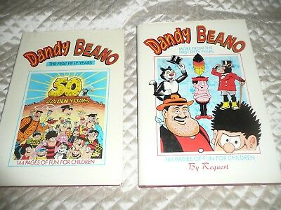 DANDY & BEANO the first 50 years + DANDY & BEANO more from the first 50 years
