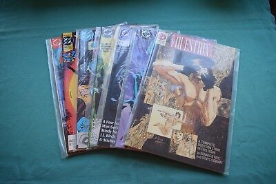 7 x DC Comics VARIOUS: The Question, CatWoman, Detective, Captain Atom, Superman