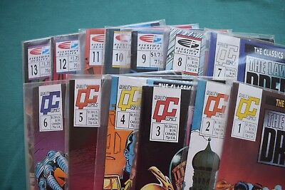 The Law of Judge Dredd - Quality Comics issues 1 - 7 & Fleetway Issues 8 - 13 OK