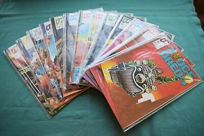 13 x Quality Comics JUDGE DREDD 17,18,19,20,22,23,24,25,26,27,28,29 & 30 NICE!!