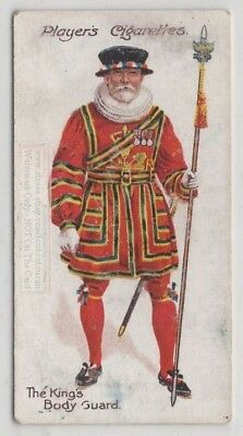 England King's Body Guard Of The Yeomen Of The Guard 100+ Y/O Trade Ad Card