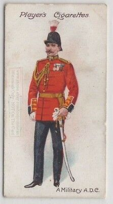 English King's Military Aides De Camp Uniform 100+ Y/O Trade Ad Card