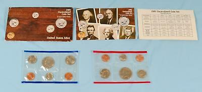1985 U.S. Uncirculated Coin Set D & P Mint Marks