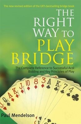 The Right Way to Play Bridge (Paperback), Mendelson, Paul, 978071...
