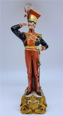 Large 12.5 Inch Capodimonte Napoleon Officer / Soldier Figure - Bruno Merli #2
