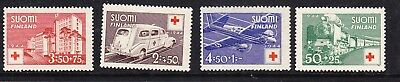Finland Red Cross 1944 Complete set 392/5 Mint