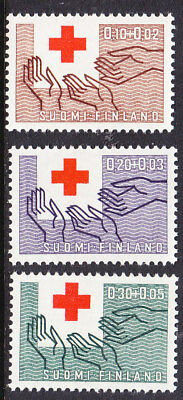 Finland Red Cross 1963 Complete set 681/83 Mint