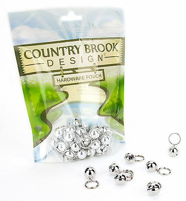 100 - Country Brook Design® 1/2 Inch Cat Jingle Bells