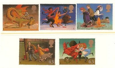 Collectible Great Britain 1998 MNH Stamps:Magical World of Children's Literature