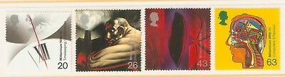 Collectible Great Britain 1999 MNH Stamps: Inventions: Timekeeping, Computers