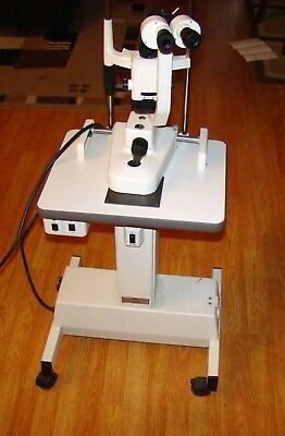 Topcon SL-1E Slit Lamp on adjustable stand Local Pickup ONLY no fee for pickup