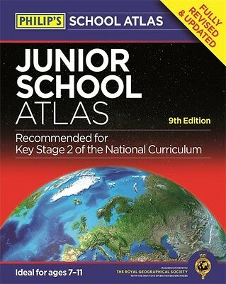 Philip's Junior School Atlas: 9th Edition (Philips School Atlas) . 9781849073974