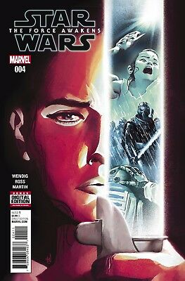 STAR WARS FORCE AWAKENS ADAPTATION #4 (OF 6), New, First print, Marvel (2016)