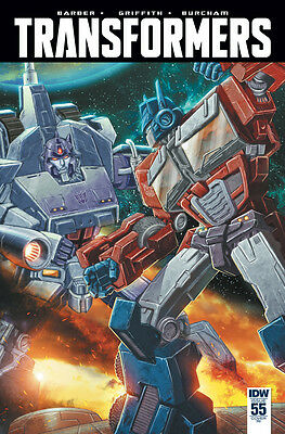TRANSFORMERS #55, 1:10 VARIANT, New, First print, IDW (2016)