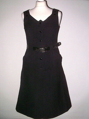 Original COURREGES hyperbole Kleid dress TRUE VINTAGE Courrèges Paris M/ 38 RAR