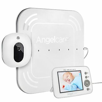 "Angelcare AC215 Digital Video Movement & Sound 3.5"" Screen Baby Monitor  A"