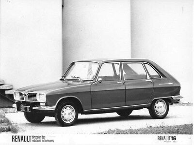 1973 Renault 16 ORIGINAL Factory Photo oua2161