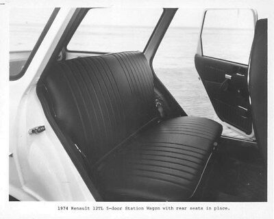 1974 Renault 12 TL 5 Door Station Wagon Interior ORIGINAL Factory Photo oua2167