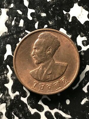 EE 1936 (1943-1944) Ethiopia 1 Cent Lot#X4004 High Grade! Beautiful!