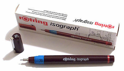 ROTRING ISOGRAPH TECHNICAL DRAWING PENNA A CHINA - 0,70 mm - ART. 151 070