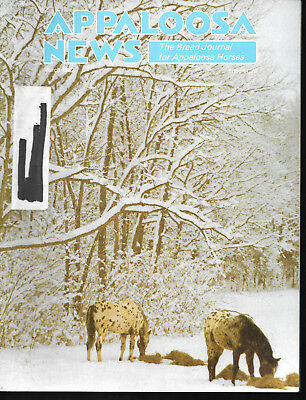 Appaloosa News Horse Magazine March 1982 Equine Breed Journal