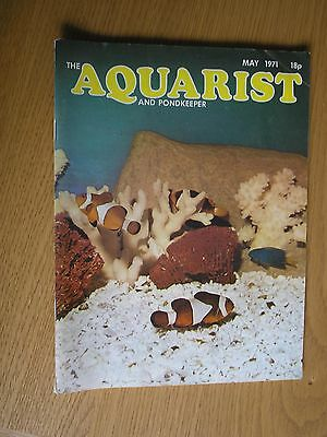 Vintage - The Aquarist and Pondkeeper Magazine - May 1971