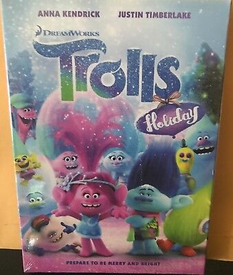 Trolls Holiday NEW DVD FREE SHIPPING