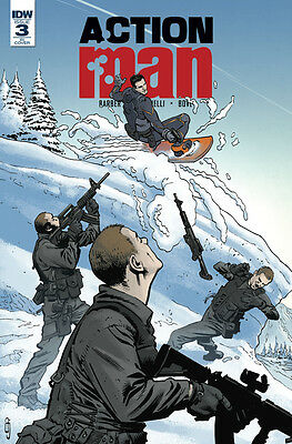 ACTION MAN #3, CURRIE 1:10 VARIANT, New, First print, IDW (2016)