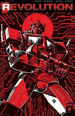 REVOLUTION #4, GUIDO GUIDI 1:25 VARIANT, New, First print, IDW (2016)