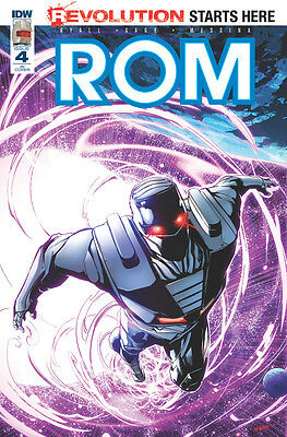 ROM #4, MHAN 1:10 VARIANT, New, First print, IDW (2016)