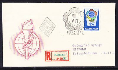 Hungary 1962 Youth Festival R5420 First Day Cover Addressed