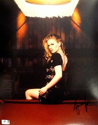 Anna Paquin Hand Signed Autographed 11x14 Photo Sexy True Blood GA 756123