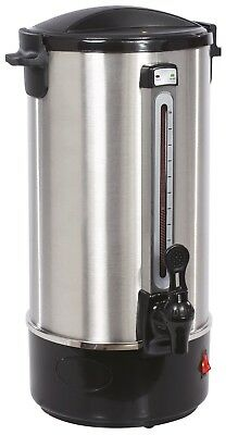 10 Litre (40 cup) Stainless Steel Catering Urn / Tea Coffee Water Boiler Machine