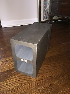"RECTANGULAR BLOCK MACHINIST GROUND PRECISION 10"" x 10"" x 5"" RISER"