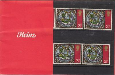 Gb 1971 Heinz Christmas Private Presentation Pack Sg 894 Mint Stamps Rare . #02