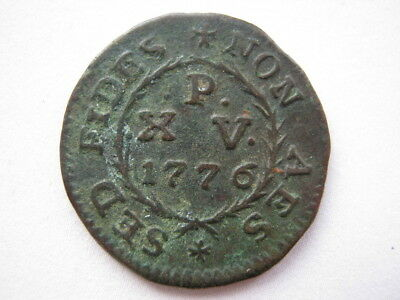 Malta Sovereign Hospital Order 1776 copper 15 Piccioli VF