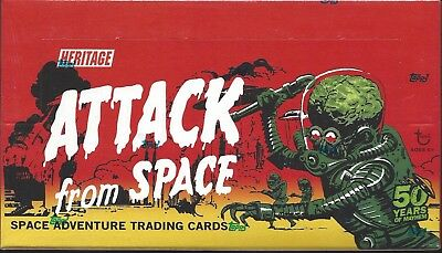 Mars Attacks Topps 2012 sealed box of alternate Heritage box...ATTACK FROM SPACE