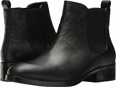 Cole Haan Women's Black Leather Landsman Short Ankle Boot Booties New in Box