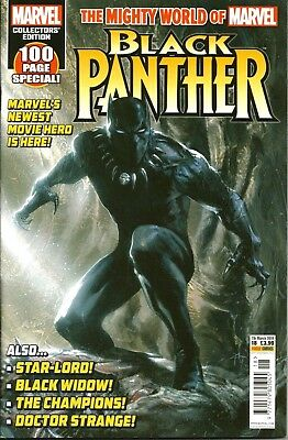 The Mighty World Of Marvel # 18 / Black Panther / Panini Uk / Mar 2018 / N/m