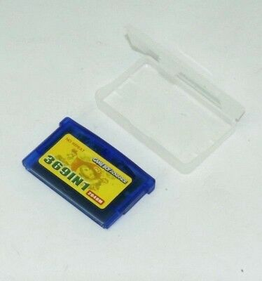 369 in 1 Game Boy Advance GBA Multi Cart Tons of Classic Retro Games - Pokemon,