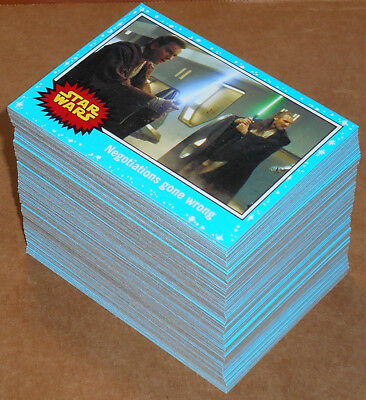 Star Wars Journey to The Force Awakens ~ COMPLETE 110-CARD BASE SET