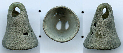 Scarce authentic ancient bronze Celtic Bell Money (7th-5th c. BC), Danube area#2