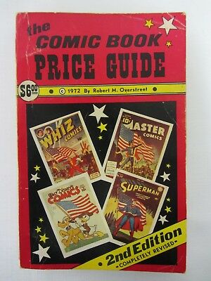 Overstreet Comic Book Price Guide 2nd Edition ~ Very Good Plus (4.5) ~ 1972