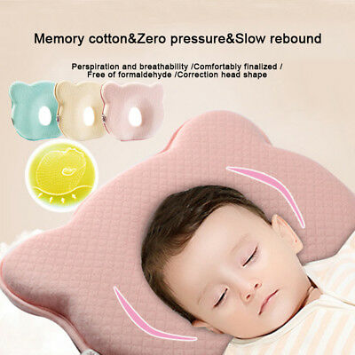 Soft Cot Baby Pillow Preventing Plagiocephaly Flat Head Neck Syndrome Care Pad